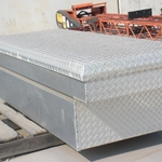 Diamond Plate Aluminum Tool Box