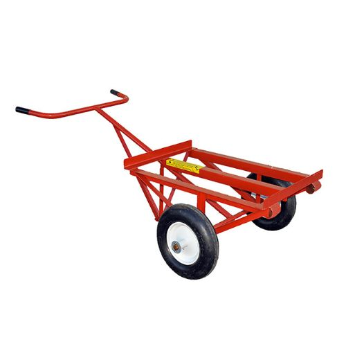 Dumping Felt & Insulation Cart with 18 X 8.50 tires
