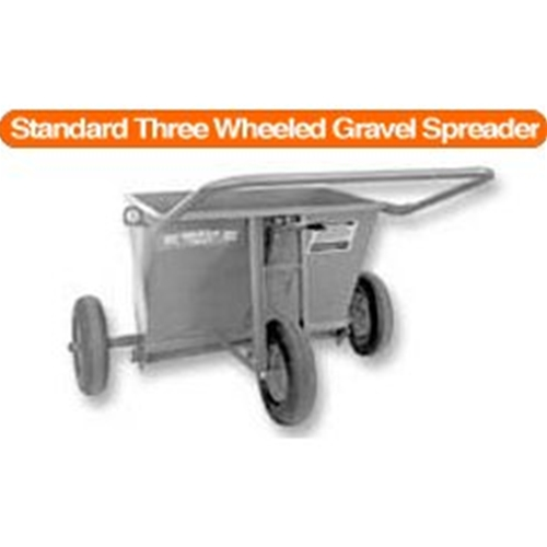 Standard Three Wheeled Gravel Spreader