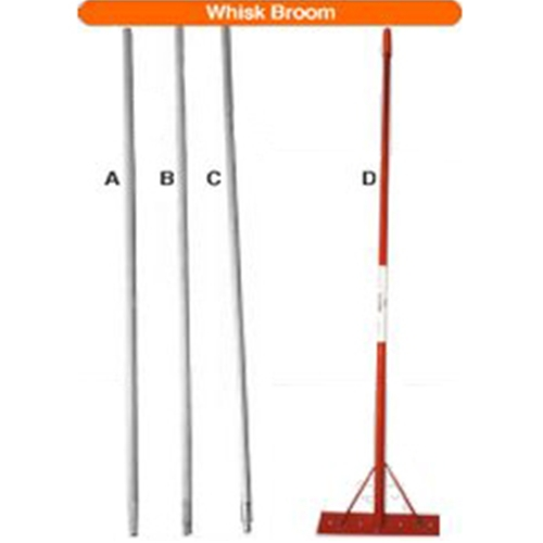 "60"" Tapered Wood Broom Handle (A)"