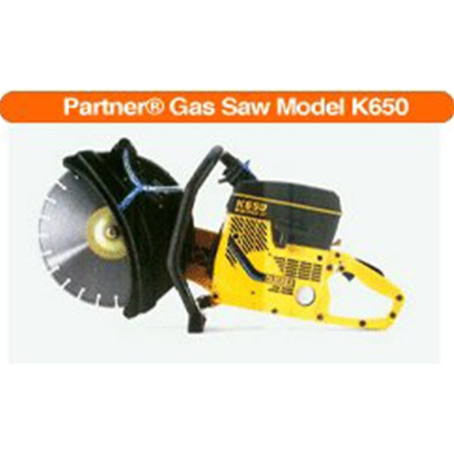 Partner Gas Saw Model K650