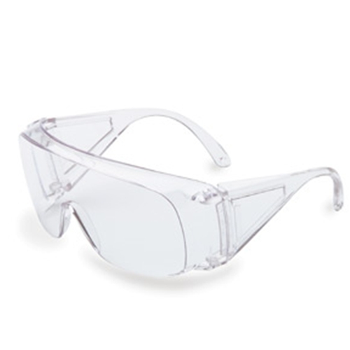 Uvex Ultra-spec 1000 Clear Frame Gray Lens, Uncoated