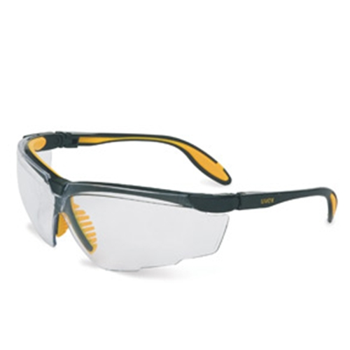 Uvex Genesis XC Black Frame Shade 2.0 Infra-dura Lens, Ultra-dura Anti-scratch Coating