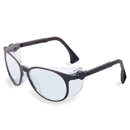 Uvex Flashback Classic Black Frame Clear Lens, Uvextreme Anti-fog Coating