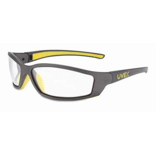 Uvex SolarPro Gray & Yellow Frame Clear Lens, Uvextreme Anti-fog Coating