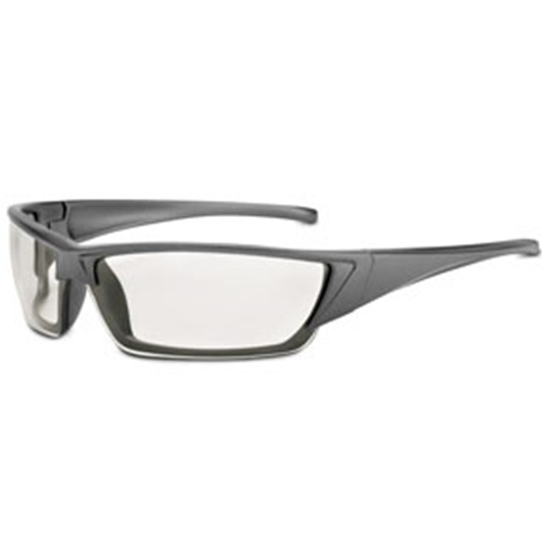Fulcrum Series Graphite Frame Clear Fog-Ban Anti-Fog Lens