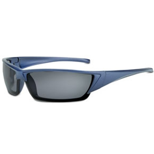 Fulcrum Series Midnight Blue Frame TSR Gray Fog-Ban Anti-Fog Lens