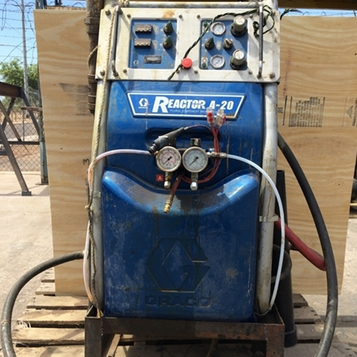 Used Spray Foam Machines