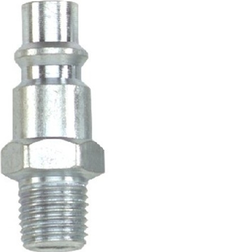 Quick-Connect Fitting Plug, 1/4 body X 1/4 NPT-MPT (Male)