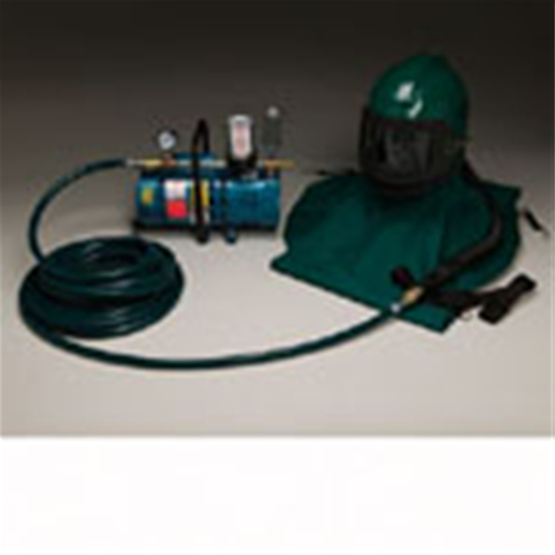 One Worker Low Pressure Nova Helmet System , 50' Hose