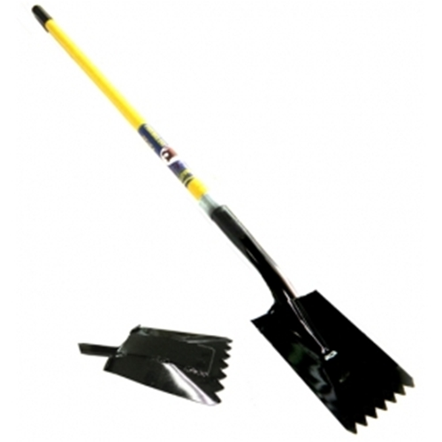 """TIGERR"" NOTCHED Spade w/Reinf"