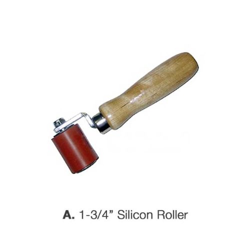 "1 3/4"" Silicone Roller with single fork"