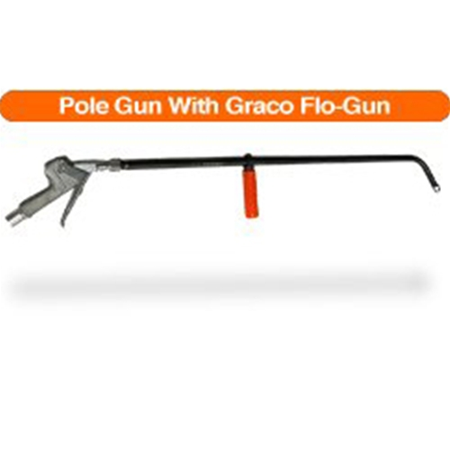 Pole Gun With Graco Pistol Grip Flo-Gun