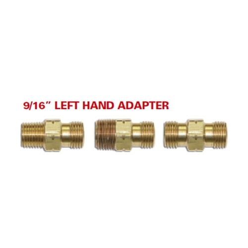 "9/16"" LEFT HAND X 9/16"" LEFT HAD ADAPTER"