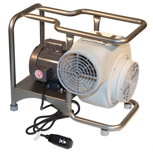 2-Speed Electric Blower- 750 CFM low/1570 CFM high - Free Air Delivery