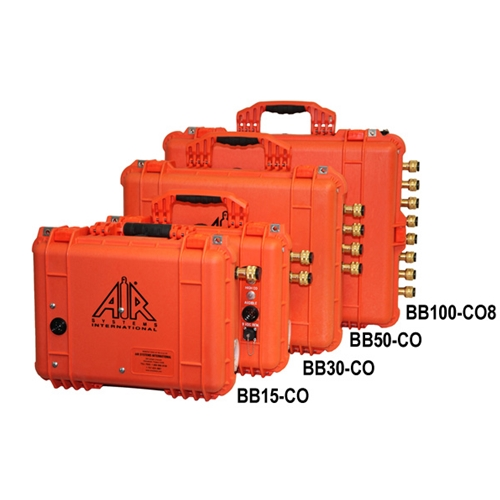 100 CFM Grade D Breather Box for 8 workers