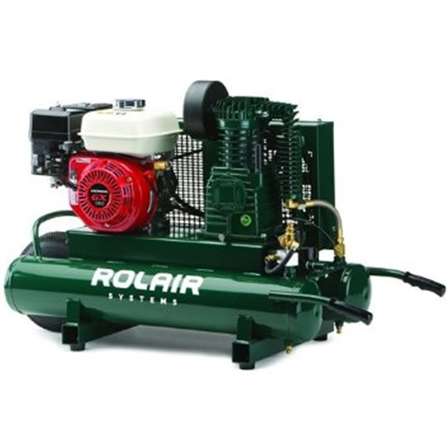 ROLAIR 5.5-HP 9-Gallon Wheelbarrow Air Compressor w/ Honda Engine - 4090HK17