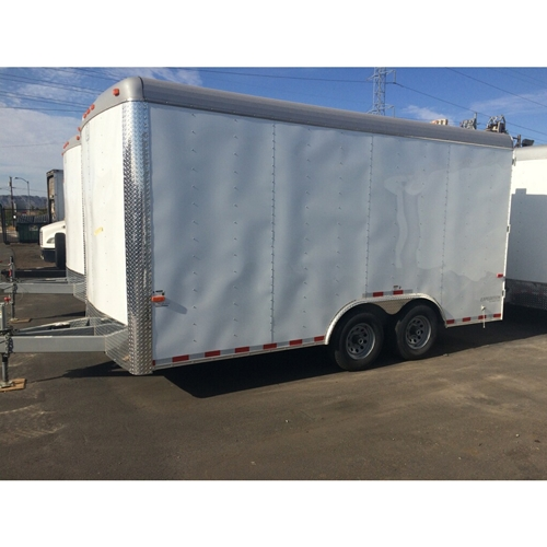 CARGO CRAFT 8 X 16 TAG TRAILER