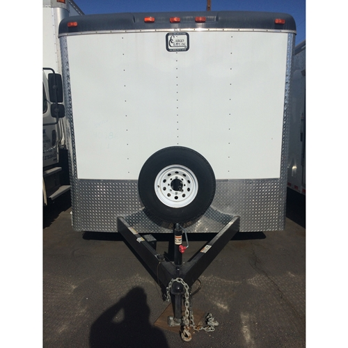 CARGO CRAFT 8 X 24 TAG TRAILER