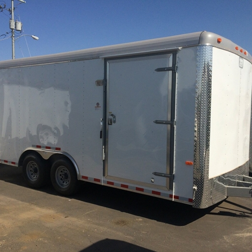 CARGO CRAFT 8 X 18 TAG TRAILER