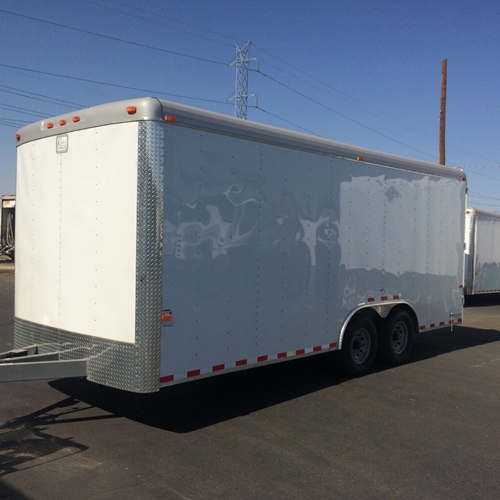 CARGO CRAFT 8 X 20 TAG TRAILER