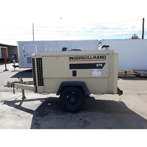 Used 1997 Ingersoll-Rand P375WCU Towable Air Compressor