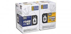 touch and seal foam kit