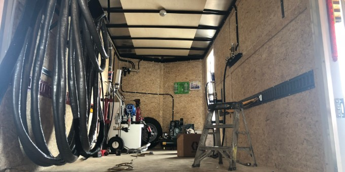 What Do You Need in Your Spray Foam Truck