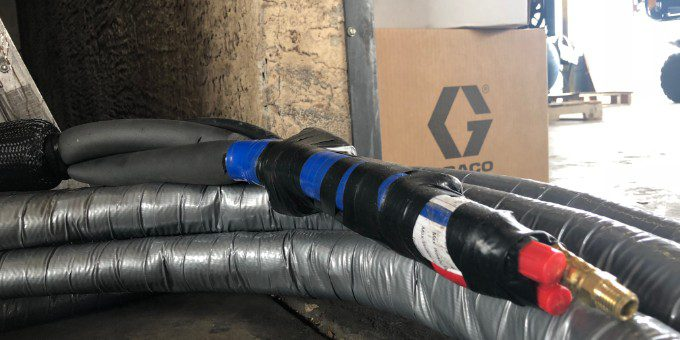 Graco Polyurea Spray Foam Equipment