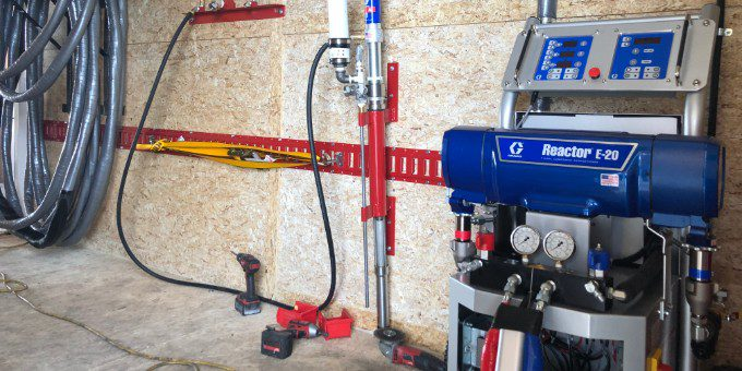 Graco Gusmer Spray Foam Machine