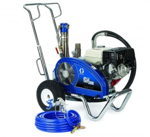 Gas Hydraulic Spray Equipment Options