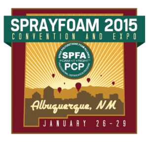 Intech Proud to Take Part in SprayFoam 2015