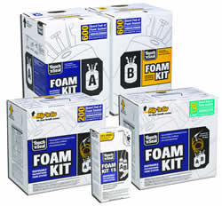 Touch and Seal Foam