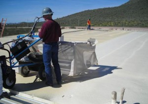 Reinforce Roof Surfaces with Coating Rigs
