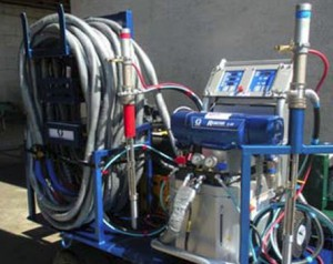 Spray Rigs Create Energy Efficient Homes of All Sizes