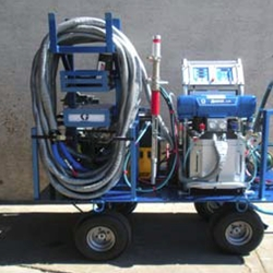 Sprayfoam Rig